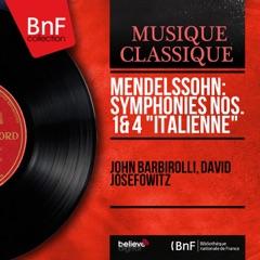 "Mendelssohn: Symphonies Nos. 1 & 4 ""Italienne"" (Mono Version)"