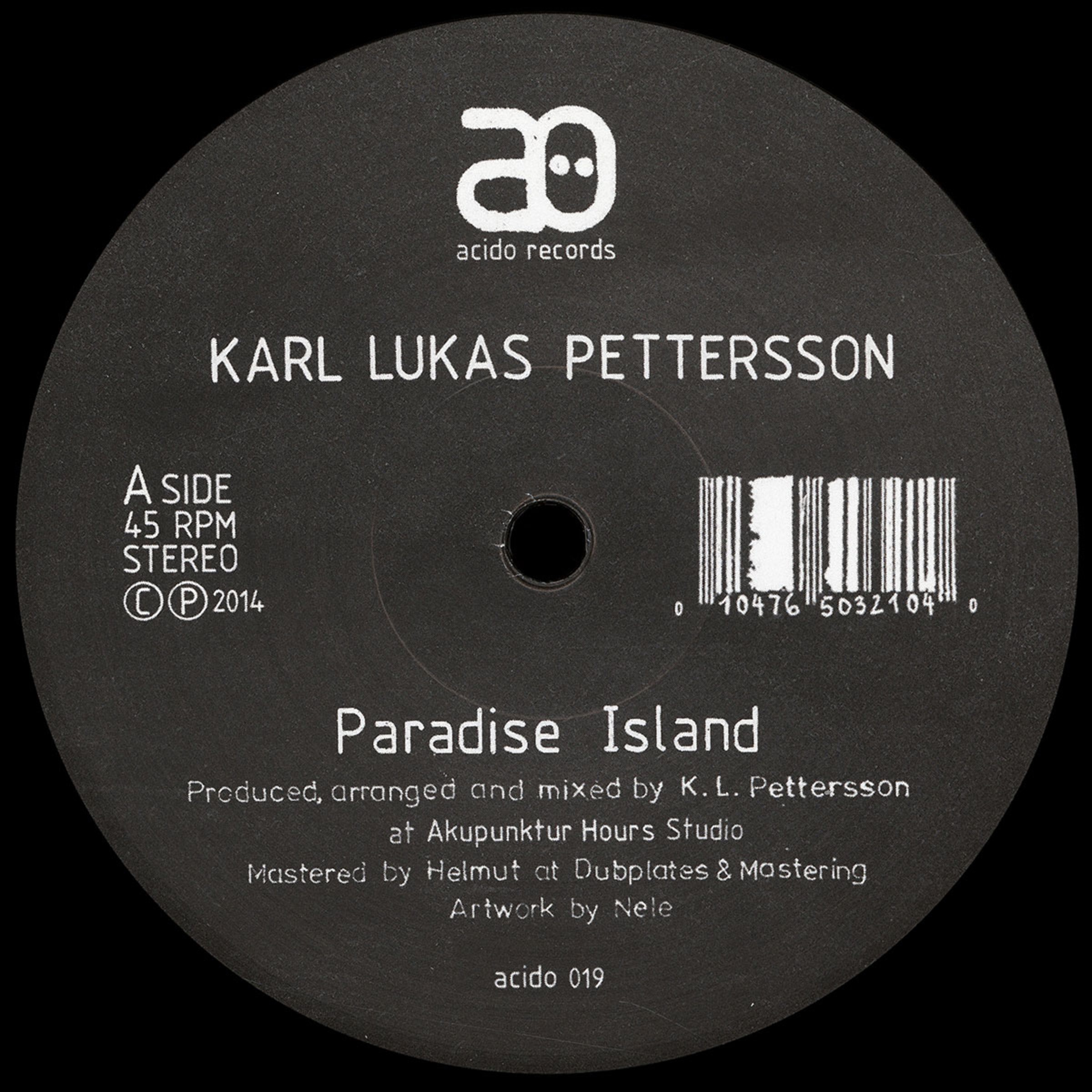 Paradise Island - Single