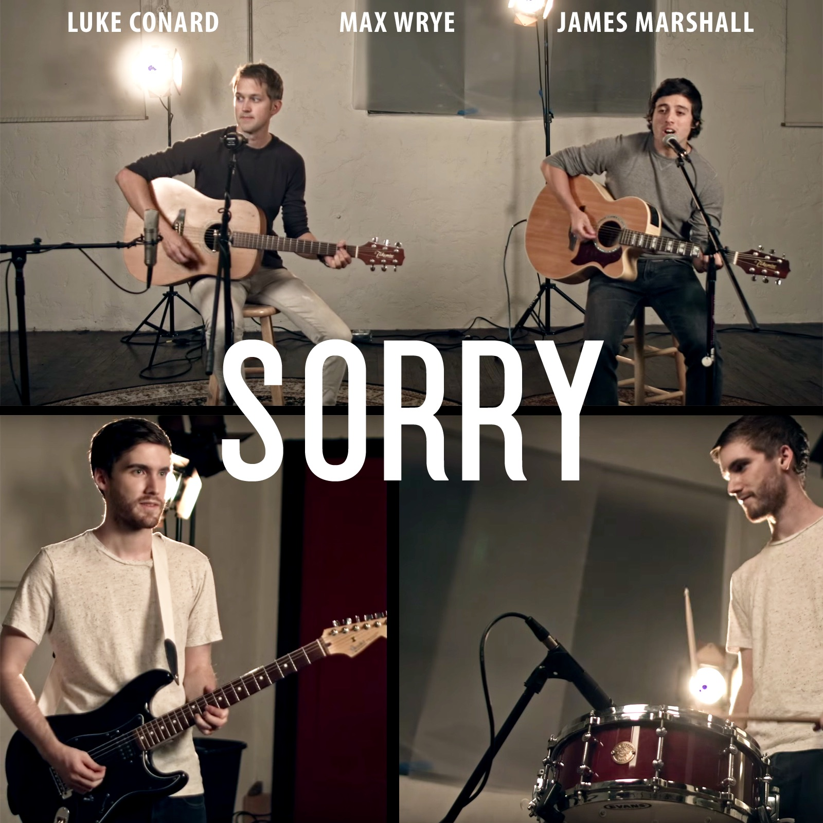 Sorry (feat. James Marshall & Max Wrye) - Single