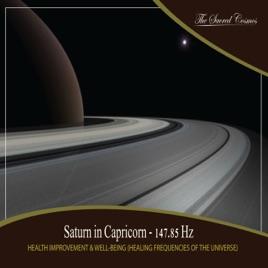 Health Improvement & Well-Being: Saturn in Capricorn