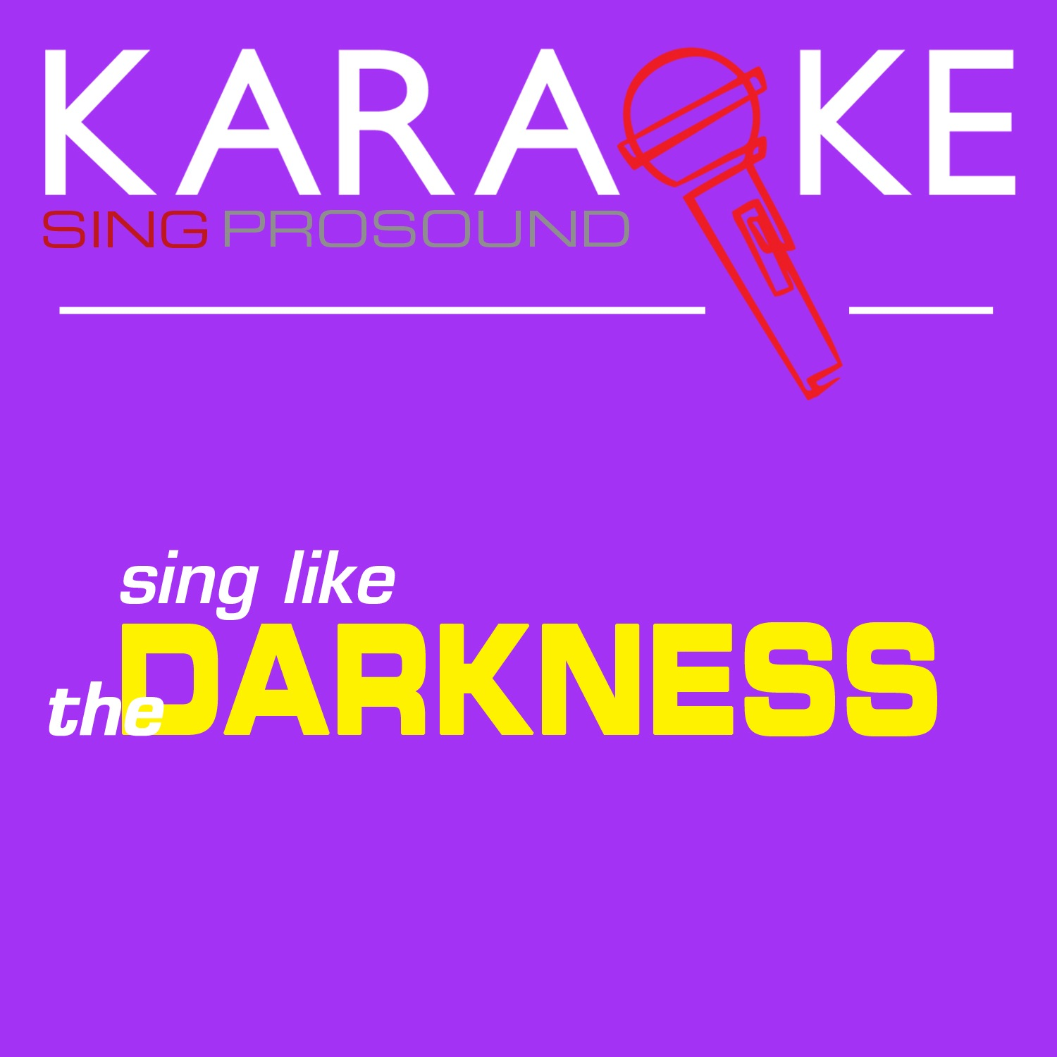 Karaoke in the Style of the Darkness - EP