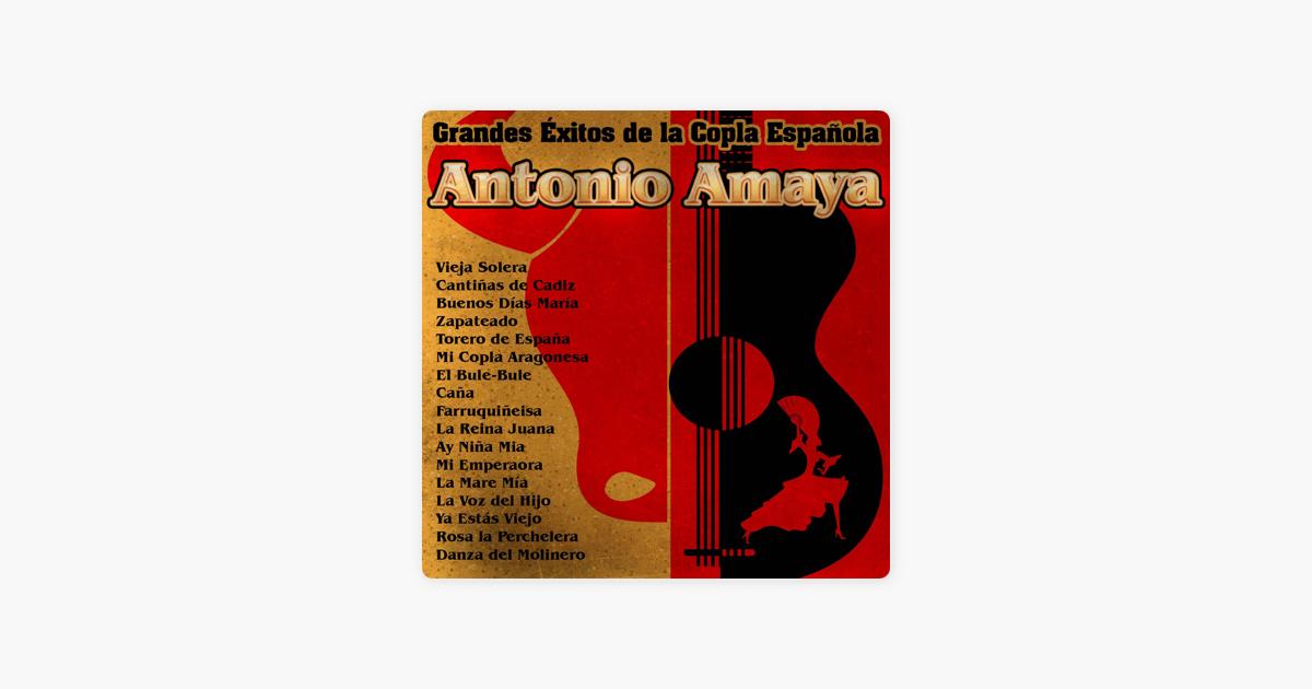 Antonio Amaya Grandes éxitos De La Copla Española Von Antonio
