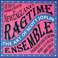 Gunther Schuller & New England Ragtime Ensemble - The Art of Scott Joplin artwork