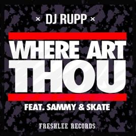 art thou... Where
