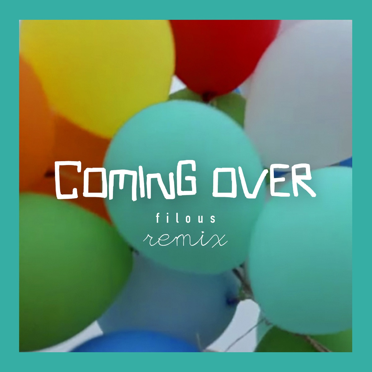Coming Over Album Cover by James Hersey