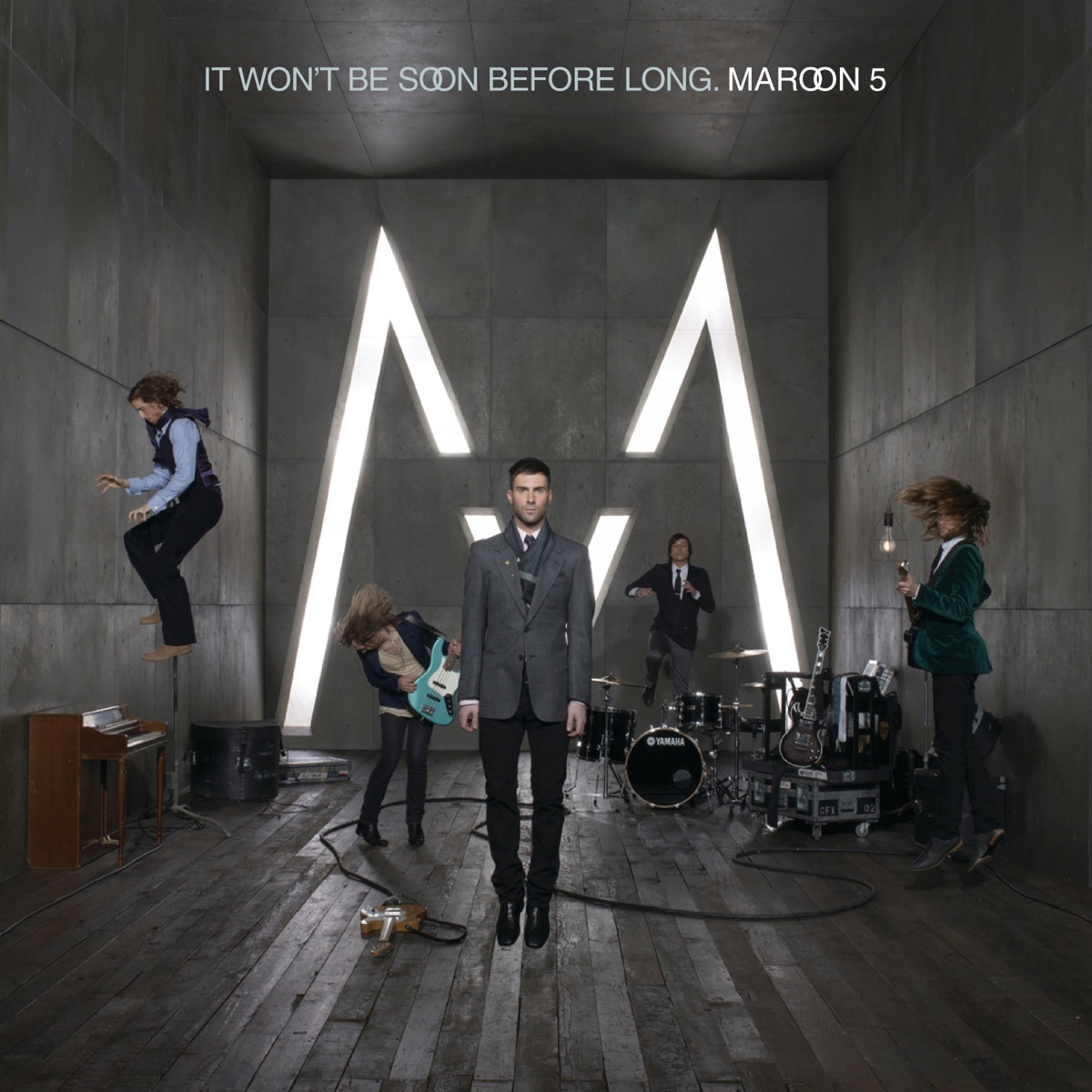 It Wont Be Soon Before Long Maroon 5 CD cover