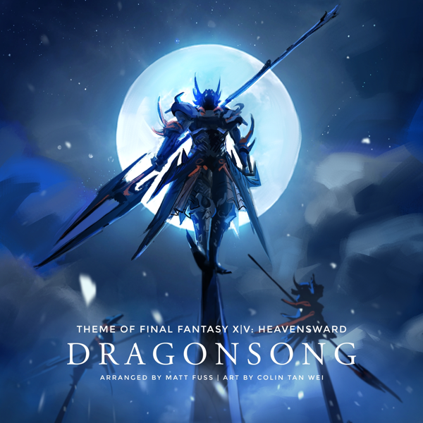 Dragonsong (Main Theme of Final Fantasy XIV: Heavensward) (Piano Cover) -  Single by Matt Fuss
