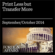 Print Less but Transfer More: Why Central Banks Should Give Money Directly to the People (Unabridged)