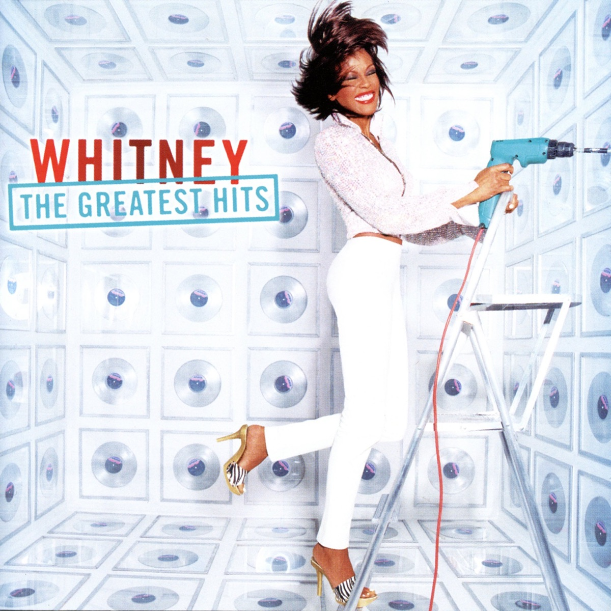 Whitney The Greatest Hits Whitney Houston CD cover
