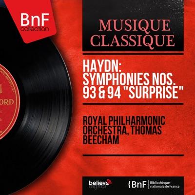 "Haydn: Symphonies Nos. 93 & 94 ""Surprise"" (Mono Version) - Royal Philharmonic Orchestra"