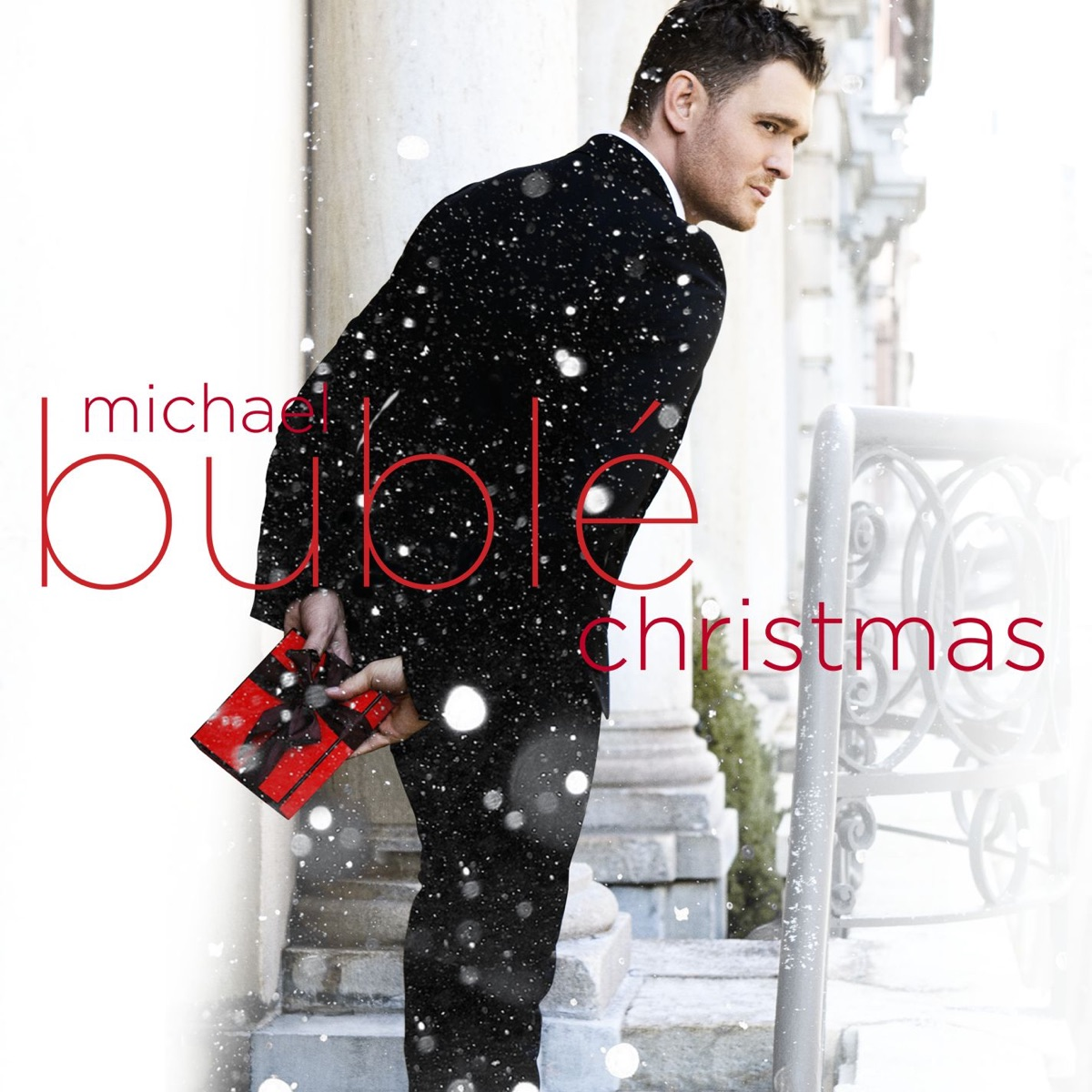 Christmas Michael Bublé CD cover