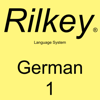 Rilkey Language Systems - Learn German Dialogues: Level 1: Rilkey Language Systems (Unabridged) アートワーク