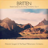 Britten: Simple Symphony for String Orchestra, Op. 4 - EP