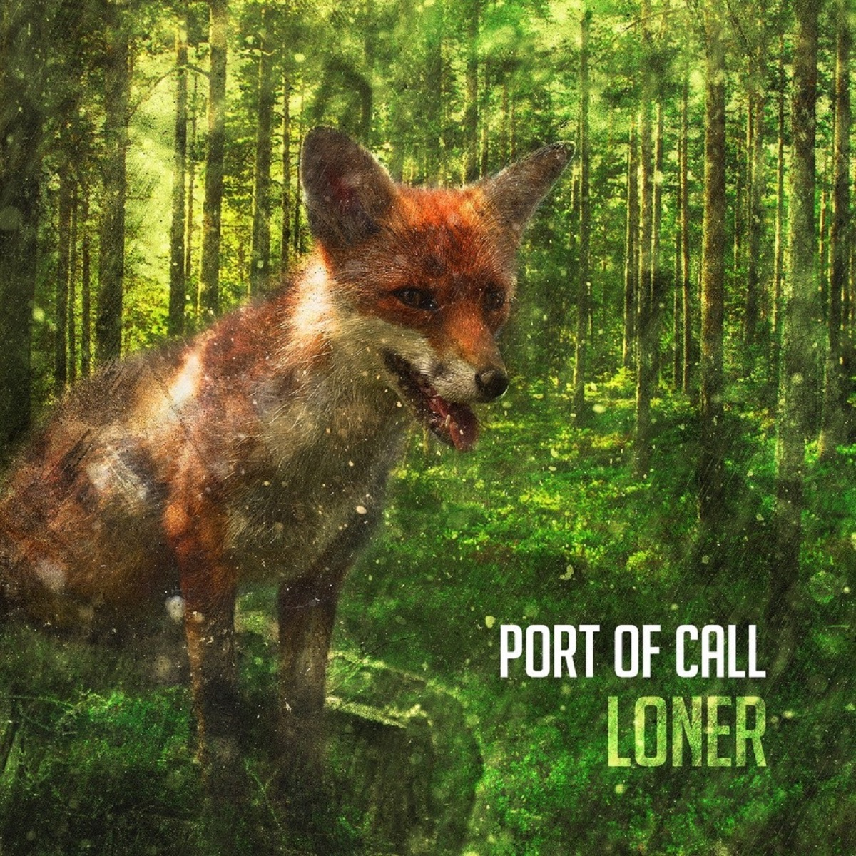Loner Port Of Call CD cover