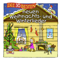 Simone Sommerland, Karsten Glück & Die Kita-Frösche - Die 30 besten neuen Weihnachts- und Winterlieder artwork