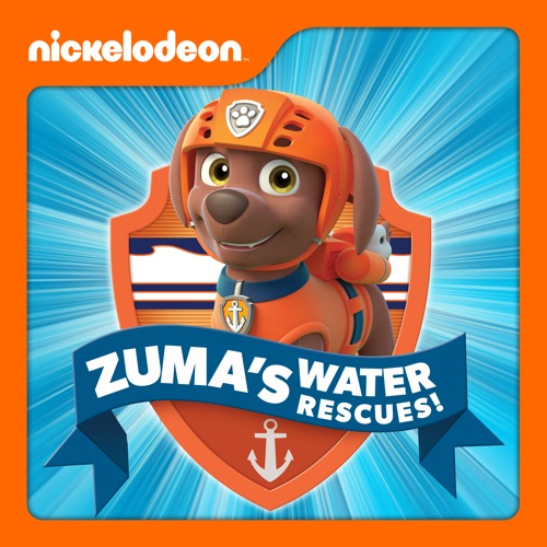 PAW Patrol, Zuma's Water Rescues! movie poster