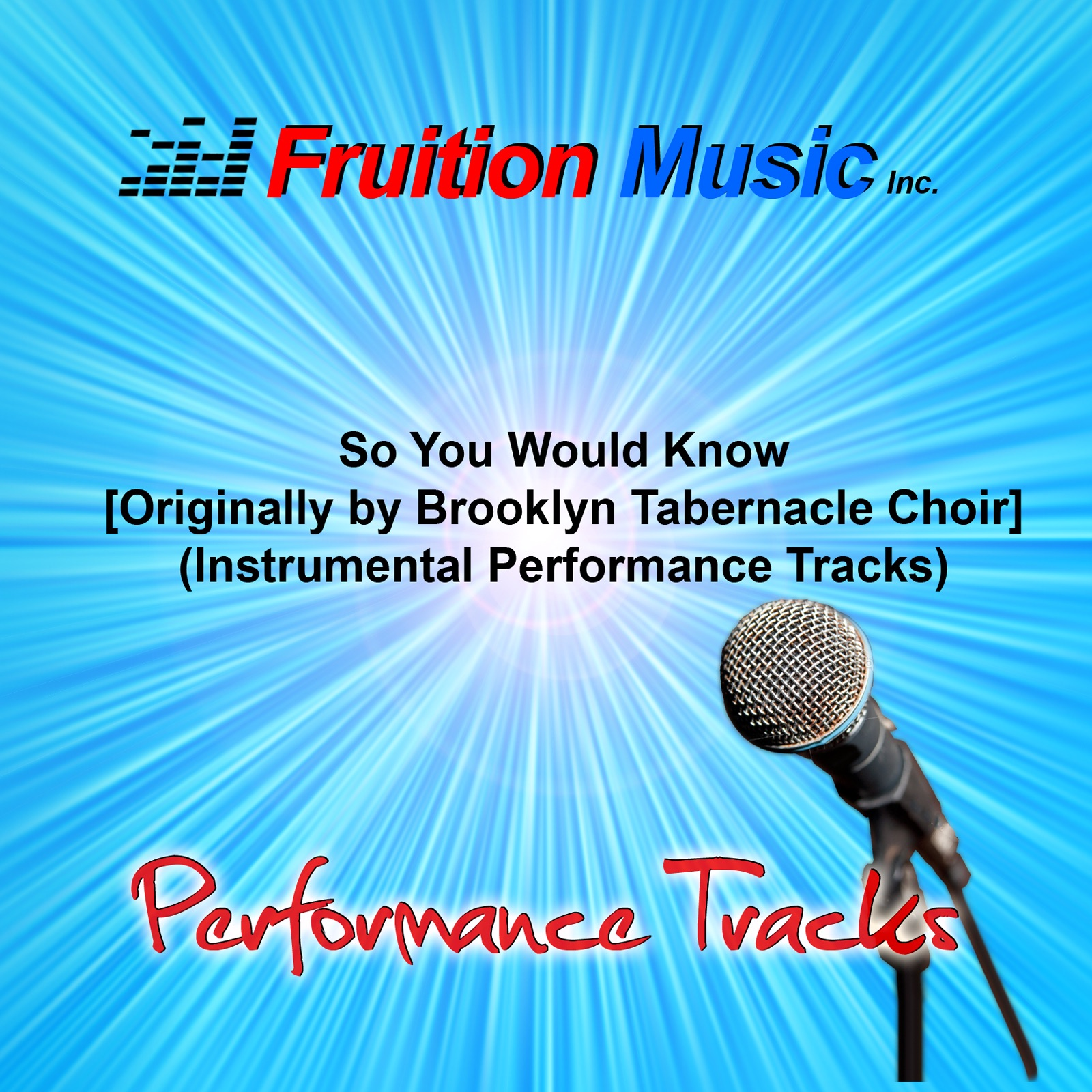 So You Would Know (Originally Performed by Brooklyn ...