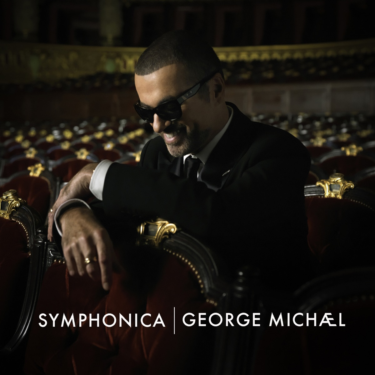 Symphonica Deluxe Version George Michael CD cover