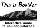 This is Boulder