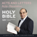 New International Version - NIV Bible 8: Acts and Letters (Unabridged)
