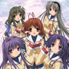 """Clannad"" OP&ED, Megumeru / Dango Dai Kazoku - VisualArt's / Key Sounds Label"