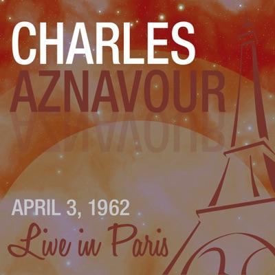 Live in Paris - Charles Aznavour