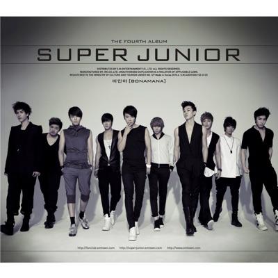 The 4th Album -Bonamana (Repackaged) - Super Junior