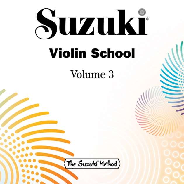 "suzuki violin school, vol. 3""william preucil on itunes"