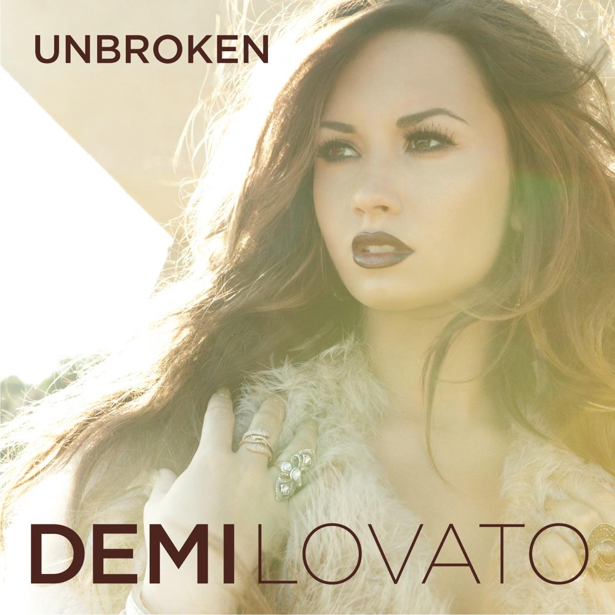 Unbroken Demi Lovato CD cover