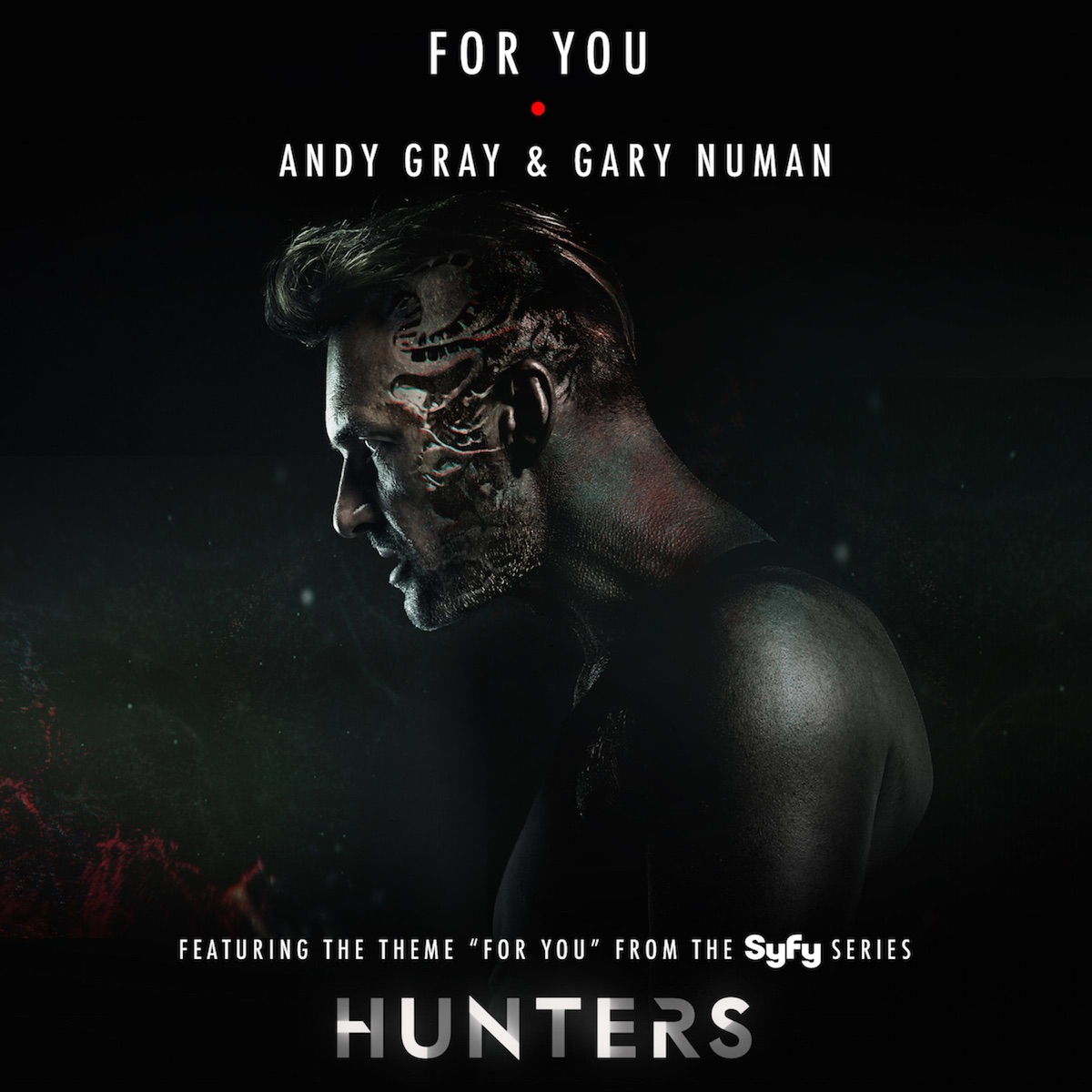For You - EP Album Cover by Andy Gray & Gary Numan