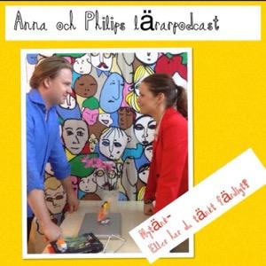 Anna och Philips lärarpodcast