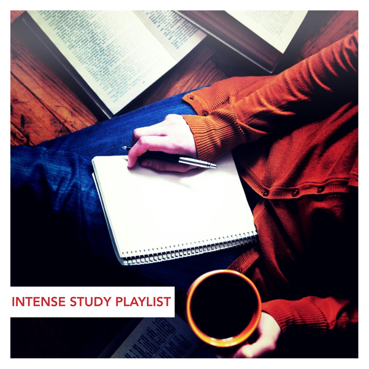 Intense Study Playlist Various Artists CD cover
