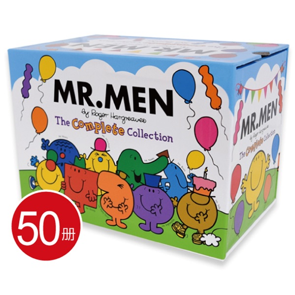 Mr. Men The Complete Collection 50 Books