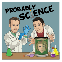 Podcast cover art for Probably Science