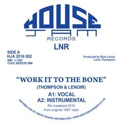Work It to the Bone - EP