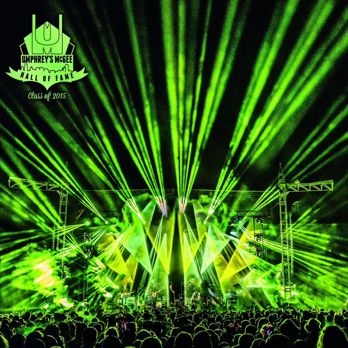 Hall of Fame Class Of 2015 Umphreys McGee CD cover