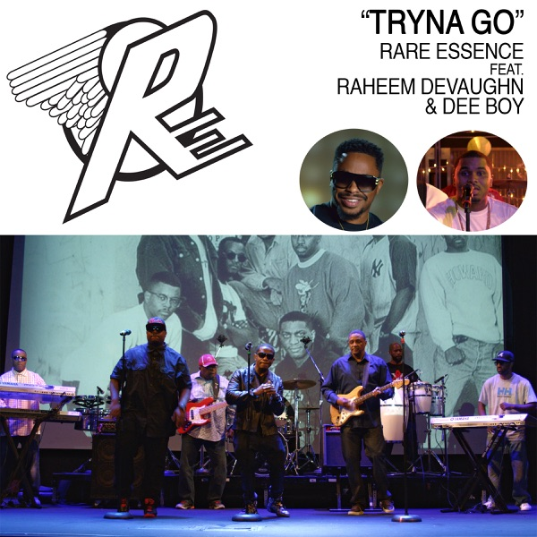 Tryna Go (feat. Raheem DeVaughn & Dee Boy) - Single