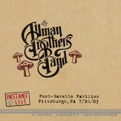 Pittsburgh, PA 7-26-03 - The Allman Brothers Band