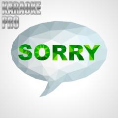 Sorry (Originally Performed by Justin Bieber) [Instrumental Version]