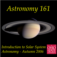 Podcast cover art for Astronomy 161 - Introduction to Solar System Astronomy