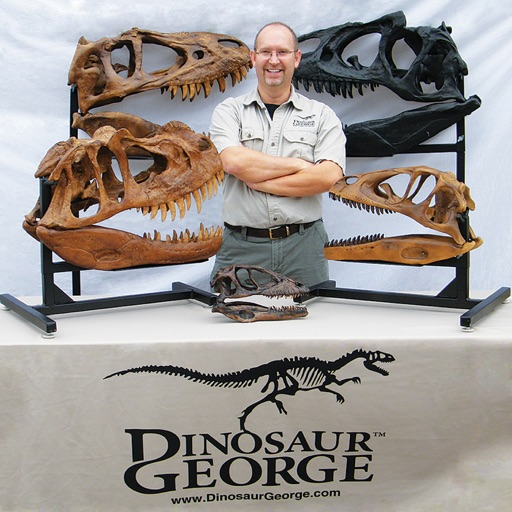 Cover image of Dinosaur George Podcast - A Podcast Devoted to Paleontology and Natural Science