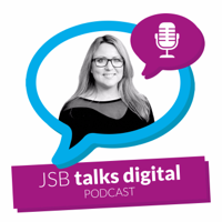 Podcast cover art for JSB Talks Digital