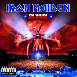 En Vivo! (Live At Estadio Nacional, Santiago) - Iron Maiden Album Cover