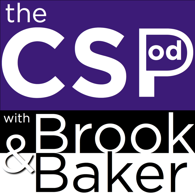 The CSPod with Brook & Baker from Code org: Ep01 - Back to