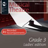 AMEB Musical Theatre Grade 3 Ladies' Edition Recorded Accompaniments (Series 1)
