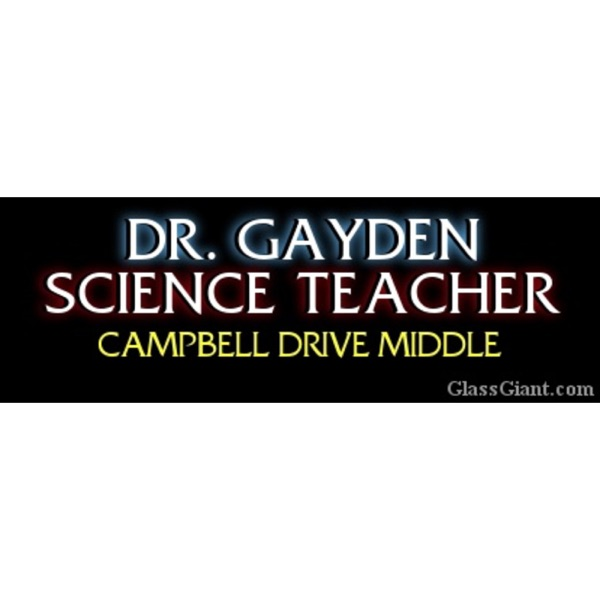 Dr. Gayden's Science Zone