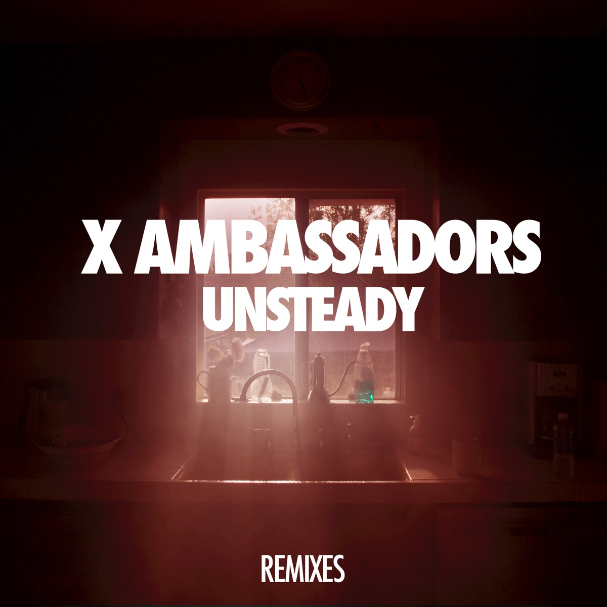 Unsteady Album Cover by X Ambassadors