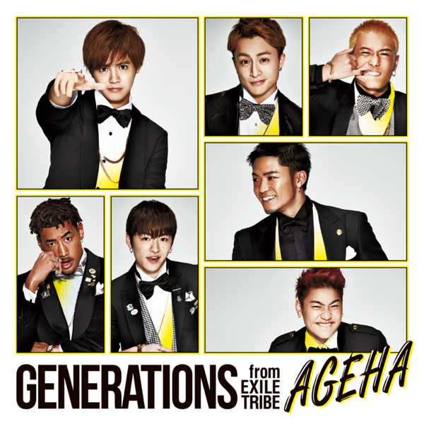 "Image result for GENERATIONS from EXILE TRIBE / ""AGEHA"" itunes"