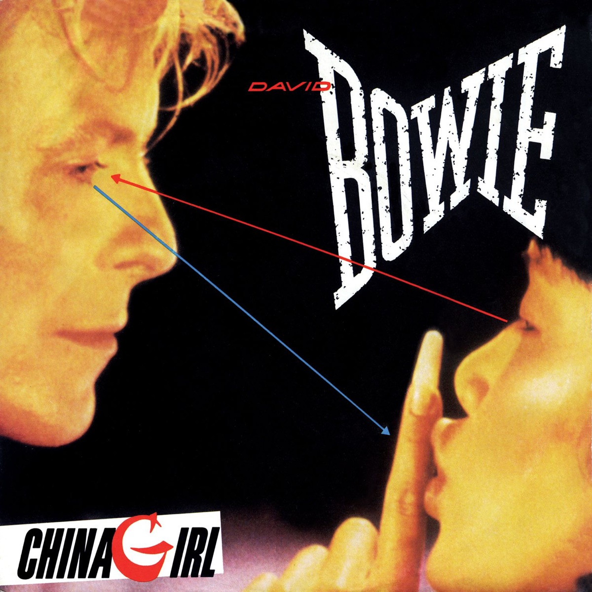 China Girl - Single Album Cover by David Bowie