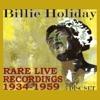 Rare Live Recordings 1934 1959